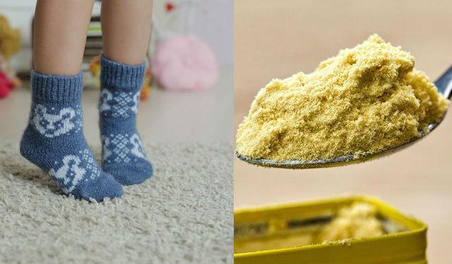 горчица носки