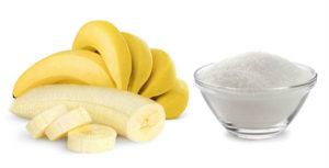банан сахар