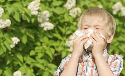 ребенок кашляет при алиргии