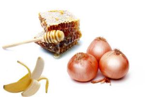 лук банан мед