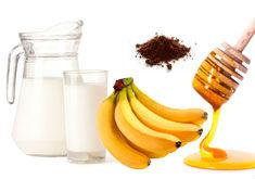 банан какао мед