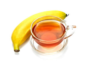 чай с бананом