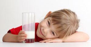 ребёнок молоко