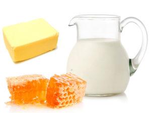 молоко масло и мед