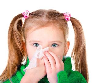 у девочки насморк и кашель