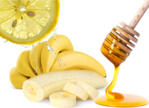 банан лимон и мед