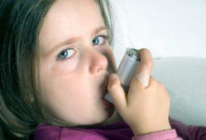 девочка астматик