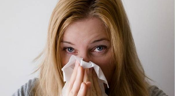девушка аллергик